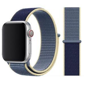 NEW Alaskan Blue Apple Watch Strap Sport Loop
